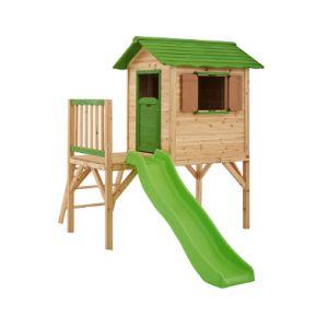 Amca Mila - Maisonnette en bois sur pilotis