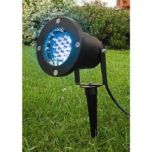 Lumihome Spot d'extérieur à piquet LED multi couleurs