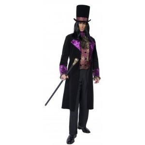 Déguisement comte homme Halloween (taille M)
