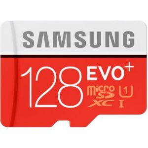 MB-MC128DA - Carte mémoire Evo+ microSDXC 128 Go Class 10 avec adaptateur