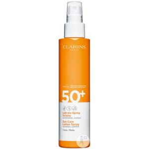 Clarins Lait-en-spray solaire corps SPF50+