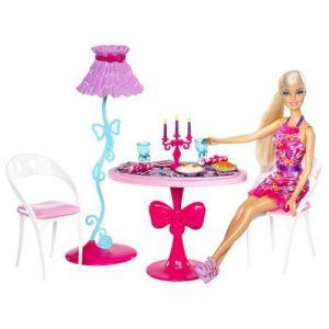 Mattel Barbie et mobilier - Salle à manger