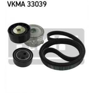 SKF Kit de courroies d'accessoires VKMA33039