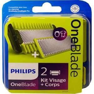 Philips Lames de rasoir OneBlade kit visage + corps