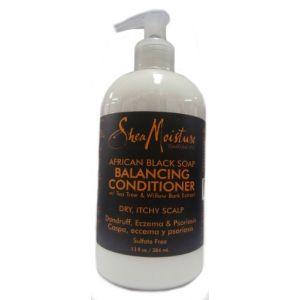 Shea Moisture African Black Soap Balancing Après-shampoing 384ml