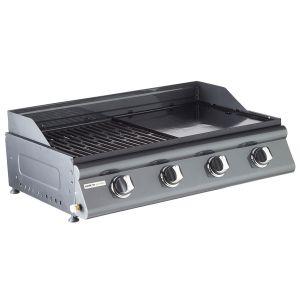 Cook'in Garden Las Palmas - Barbecue à gaz mixte 4 brûleurs