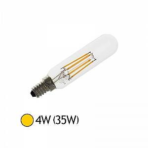 Vision-El Ampoule Led 4W (35W) E27 Filament COB Tube ST25 Blanc chaud 2700°K -