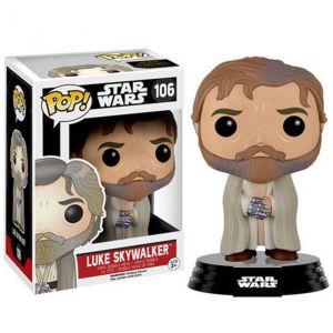 Funko Figurine Pop! Star Wars: Le Réveil de la Force Luke Barbu