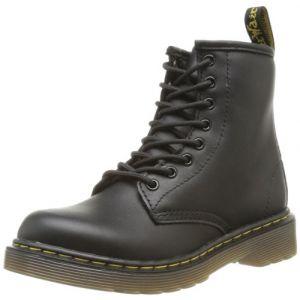 Dr. Martens Delaney, Boots mixte enfant - Noir (Black Softy T), 29 EU (11 UK)
