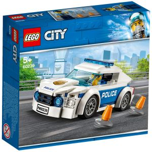 Lego City - La voiture de la patrouille de la police - 60239