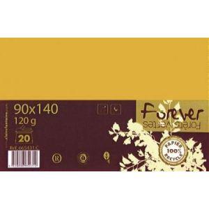 GBC Paquet de 20 enveloppes Forever 9 x 14 cm (120 g)