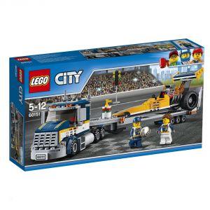 Lego 60151 - City : Le transporteur du dragster