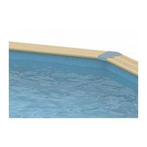 Ubbink Liner bleu pour piscine ronde - 4,10 x 1,20 m