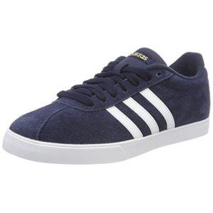 Adidas Courtset, Chaussures de Fitness Femme, Bleu (Maruni/Ftwbla/Dormet 000), 37 1/3 EU