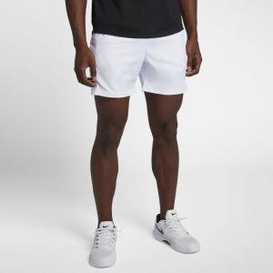 Nike Short de tennis Court Dri-FIT 18 cm pour Homme - Blanc - Taille L - Homme