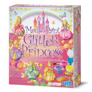 4M - Kidz Labs Kit de moulage en plâtre : Princesse