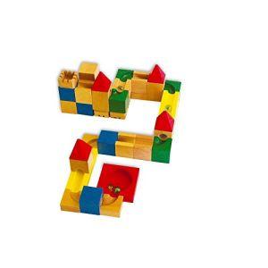 Legler 7076 - Jeu de construction avec circuit pour billes