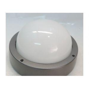 Prisma Hublot extérieur anthracite métallisé Ø 241mm pour lampe E27 230V 60W max (non incl) IP66 IK07 EKO+21 302036