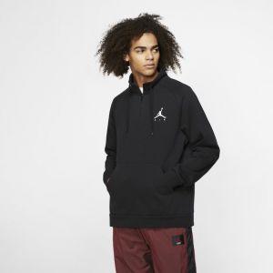 Nike Haut en tissu Fleeceà demi-zip Jordan Jumpman pour Homme - Noir - Taille L - Male
