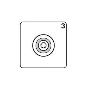 Procopi 1021020 - Volet fixe de robot Victor