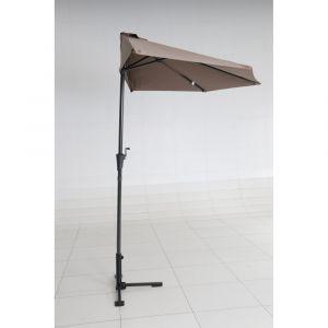 Demi parasol CUBA taupe
