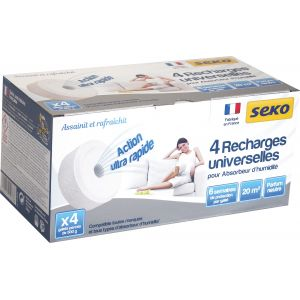 Seko Absorbeur d'humidité médium recharge neutre 4