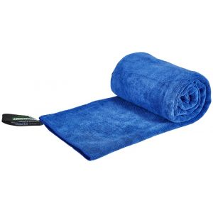 Sea to Summit Tek Towel - Serviette microfibre taille S, bleu