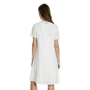 Desigual Vest_Charlotte Robe, Blanc (Blanco 1000), Large Femme