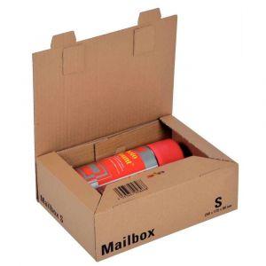 ColomPac Boîte postale brune d'expédition Mailbox S en carton - 25 x 17,5 x 8 cm
