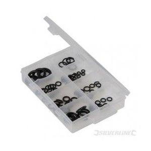 Silverline 398779 - Coffret de joints toriques 85 pcs