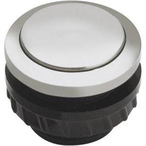 Grothe Bouton de sonnette 1 prise 62061 aluminium 24 V/1,5 A