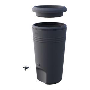 Elho Récupérateur d'eau de pluie 200L noir