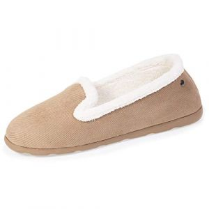 Isotoner Chaussons slippers femme Beige