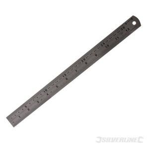 Silverline MT68 - Réglet en inox 60 cm