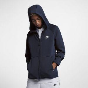 Nike Sweat à capuche entièrement zippé Sportswear Tech Fleece pour Homme - Bleu - Taille L