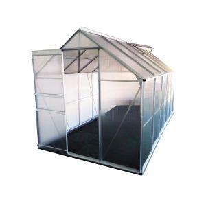 Chalet et Jardin Serre polycarbonate diamant - 8,2 m2