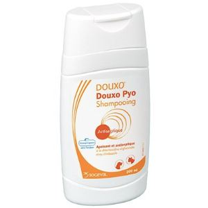 Douxo Pyo - Solution moussante antiseptique à la chlorhexidine 3%