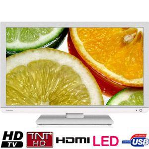 Toshiba 24D1434DG - Téléviseur LED 59 cm avec lecteur DVD intégré