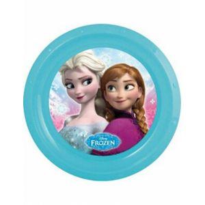 Assiette plastique La Reine des Neiges 21 cm