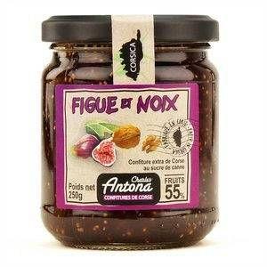 Charles Antona Confiture Extra de Figue/Noix 350 g - Lot de 3