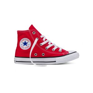 Converse Chaussures enfant CHUCK TAYLOR ALL STAR CORE HI rouge - Taille 27,28,29,30,31,32,33,34