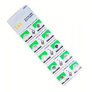 Live wire direct AG4 Lot de 10 piles bouton pour montre Type LR66 LR626 377 CR626SW 1,55 V