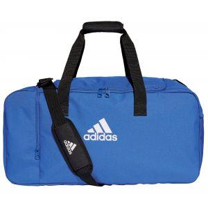 Adidas Sac de Sport Tiro Duffel Medium - Bleu/Blanc - Bleu - Taille One Size