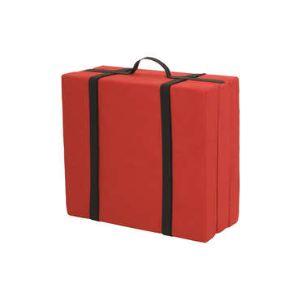 lit d 39 appoint valisette convertible pouf 70 x 90 cm comparer avec. Black Bedroom Furniture Sets. Home Design Ideas