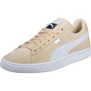 Puma Suede Classic+, Sneakers Basses Mixte Adulte, Beige (Natural Vachetta White 08), 41 EU