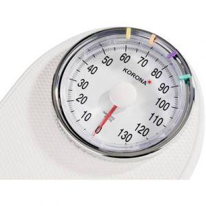 Korona Pèse-personne analogique 76888 (L x l x h) 430 x 285 x 83 mm blanc