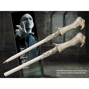 The Noble Collection Stylo et marque-page baguette Voldemort Harry Potter