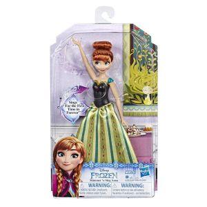 Hasbro Poupée Frozen La Reine des Neiges 2 Anna Chantante