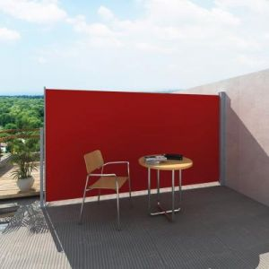 VidaXL Paravent Store vertical Patio Terrasse 160 x 300 cm Rouge