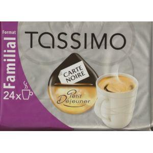 Tassimo 24 dosettes T-Discs Carte Noire Petit Déjeuner format familial